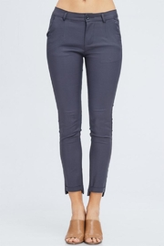 Venti 6 Grey Skinny Pants - Product Mini Image