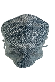Sox Trot Grey Snake Tie Mask/Scarf - Product Mini Image