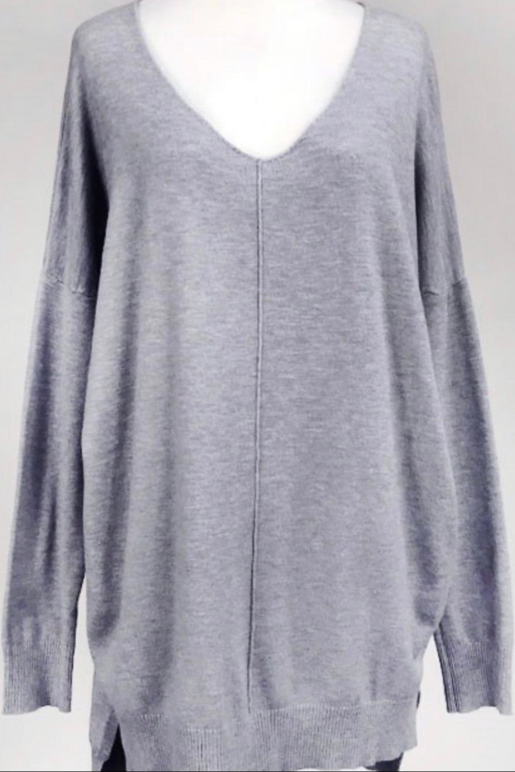 693f19cb5 Dreamers Grey Soft Sweater from Wisconsin by Apricot Lane ...