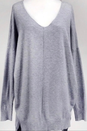 Dreamers Grey Soft Sweater - Product Mini Image