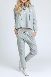 storia Grey Star Sweater - Product Mini Image