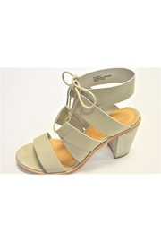 Very Volatile Grey Strappy Sandals - Product Mini Image