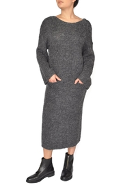 Native Youth Grey Sweater Dress - Product Mini Image