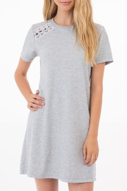 Others Follow  Grey T-Shirt Dress - Product Mini Image