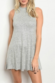 Popular Basics Grey Tank Dress - Product Mini Image