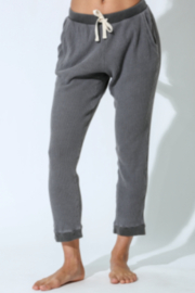 Electric & Rose Grey Thermal Jogger - Front cropped