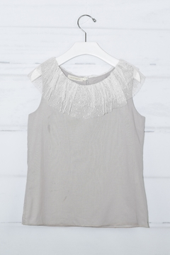 cesar blanco Grey Tulle Outfit - Alternate List Image