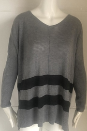 RD Style Grey V-Neck Sweater - Product Mini Image
