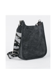 Ah!dorned Grey Vegan Messenger With Silver Camo Strap - Product Mini Image