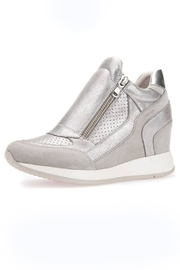 Geox Grey Wedge Sneaker - Product Mini Image