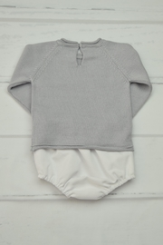 Granlei 1980 Grey & White Outfit - Front full body