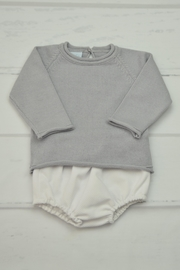 Granlei 1980 Grey & White Outfit - Front cropped