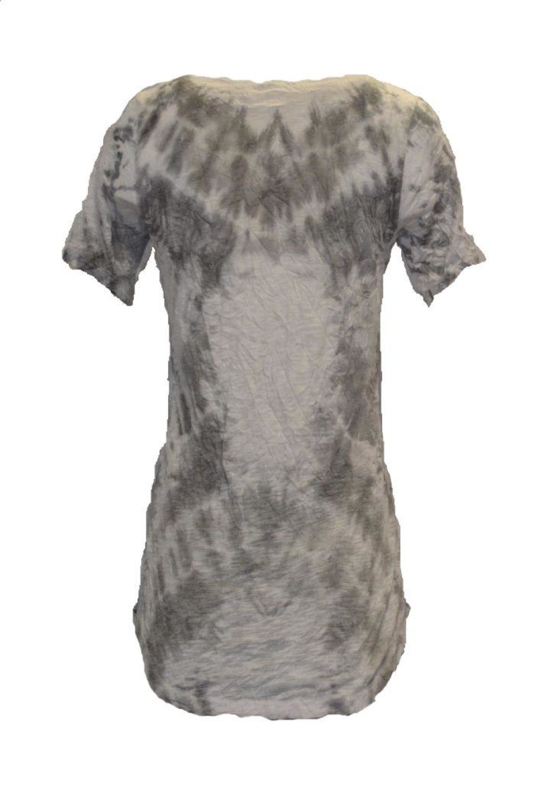 David Cline Grey/white Top - Side Cropped Image