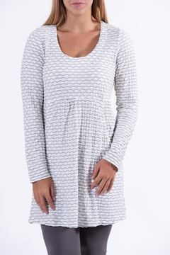Apparel Love Grey/white Tunic - Product List Image