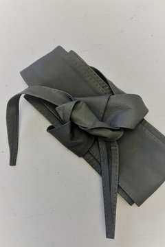 Shoptiques Product: Grey Wrap Belt
