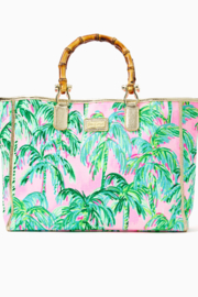 Lilly Pulitzer  Greydon Canvas Tote - Product Mini Image