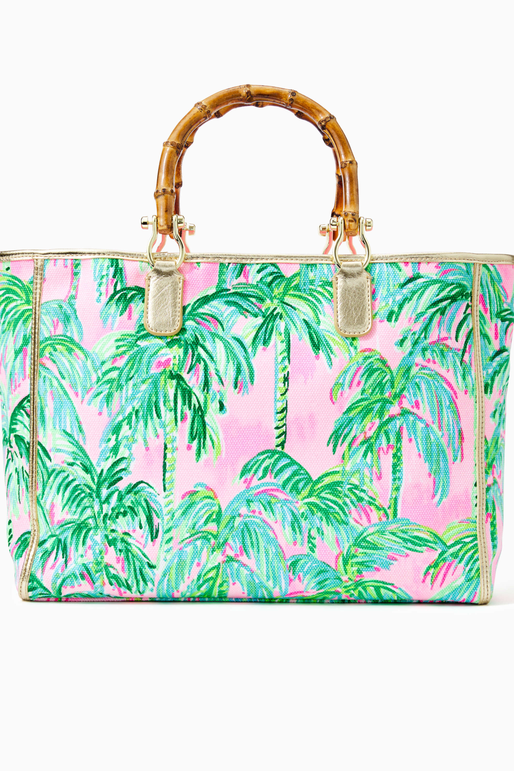 Lilly Pulitzer  Greydon Canvas Tote - Front Full Image