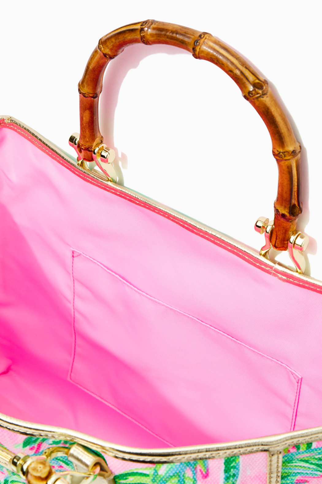 Lilly Pulitzer  Greydon Canvas Tote - Side Cropped Image