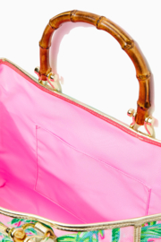 Lilly Pulitzer  Greydon Canvas Tote - Side cropped