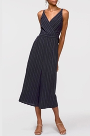 Greylin Christina Pinstripe Jumpsuit - Front cropped