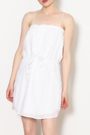 Greylin Dakota White Dress - Product Mini Image