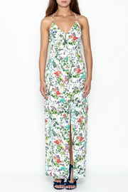 Greylin Floral Maxi Dress - Front full body