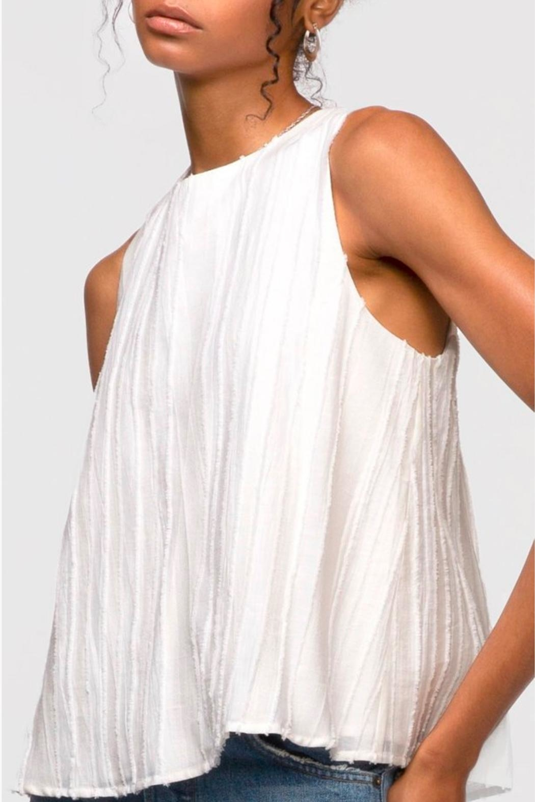 Greylin Oliver Textured Tank - Side Cropped Image