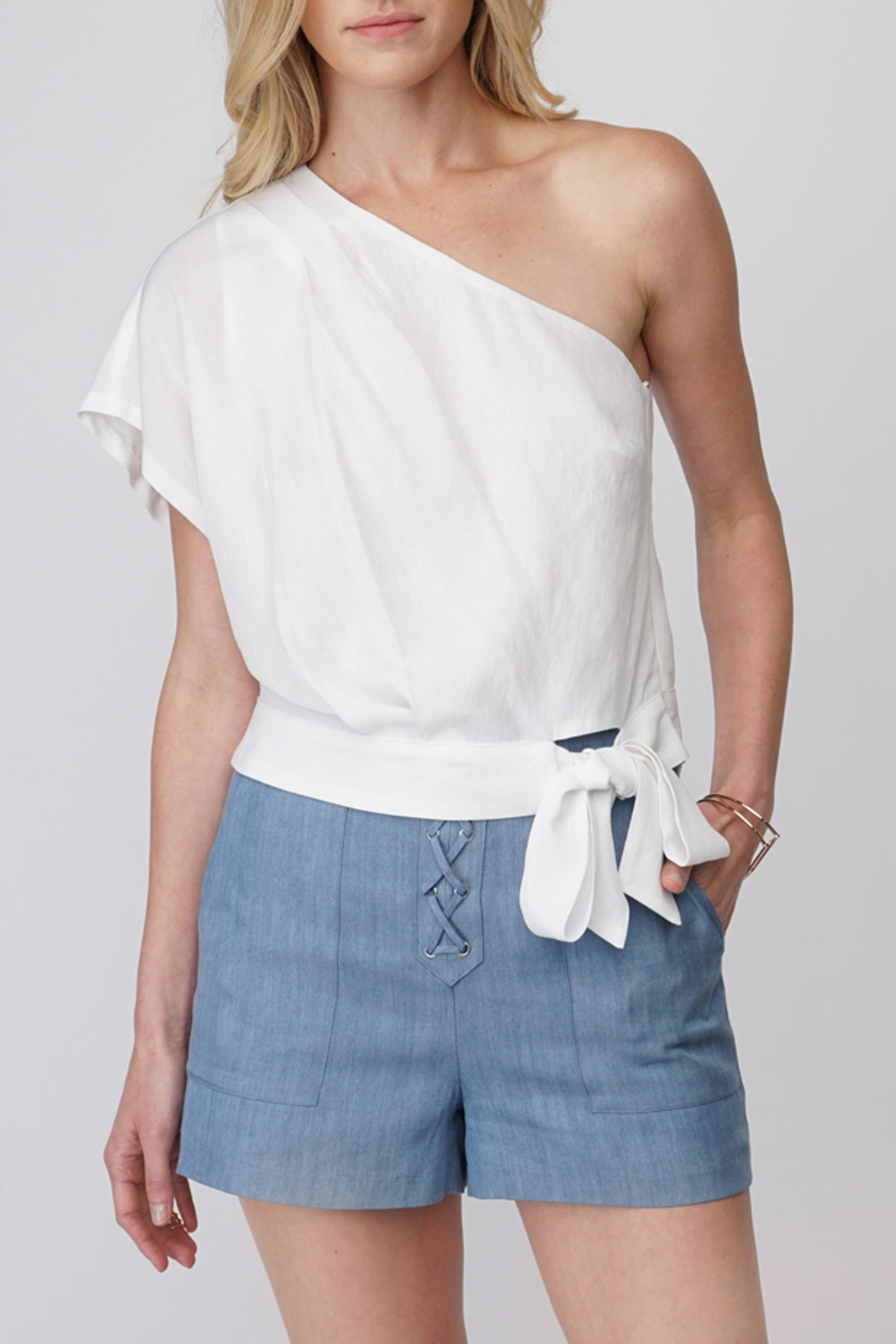 Greylin One Shoulder Blouse - Main Image