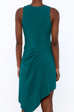 Shoptiques Product: Pin Tucked Asymmetrical Dress