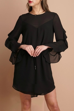 Shoptiques Product: Ruffled Sleeve Dress