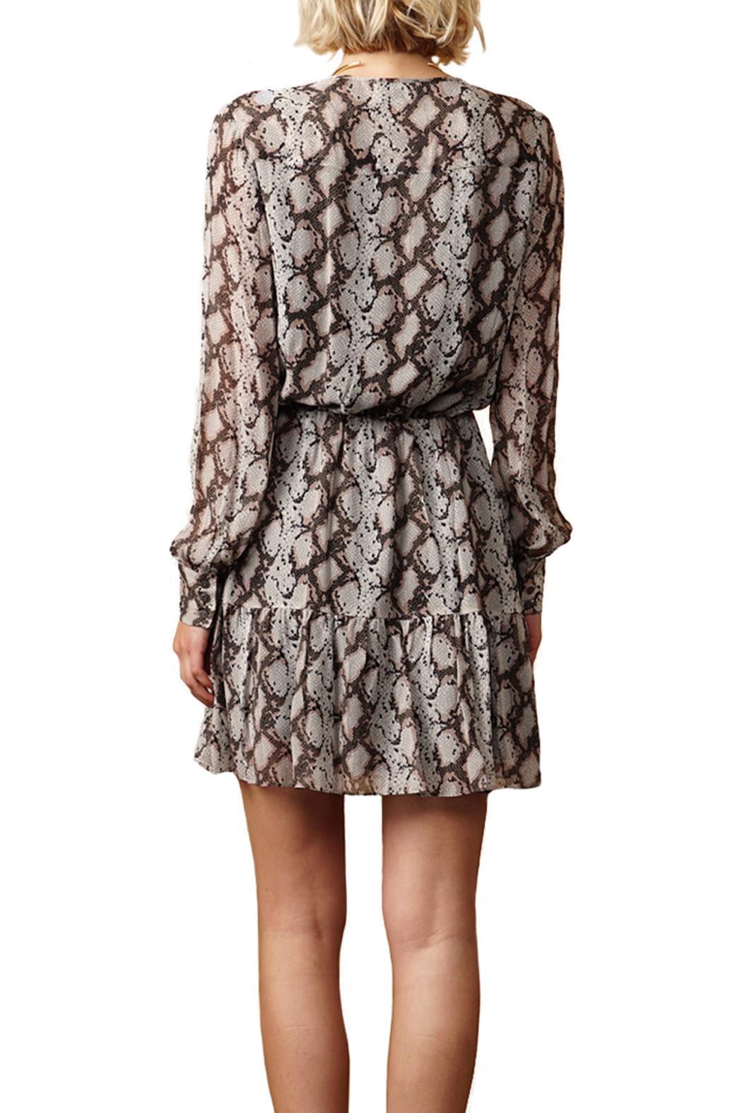 Greylin Sellia Pinktucked Dress - Side Cropped Image
