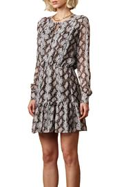 Greylin Sellia Pinktucked Dress - Front full body