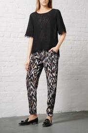 Greylin Silk Ankle Trouser - Product Mini Image