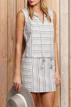 Shoptiques Product: Stripe Fringe Dress