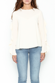Greylin Thalia Ruffled Blouse - Front full body