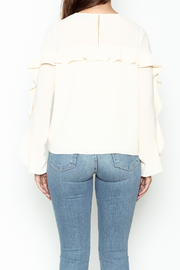 Greylin Thalia Ruffled Blouse - Back cropped