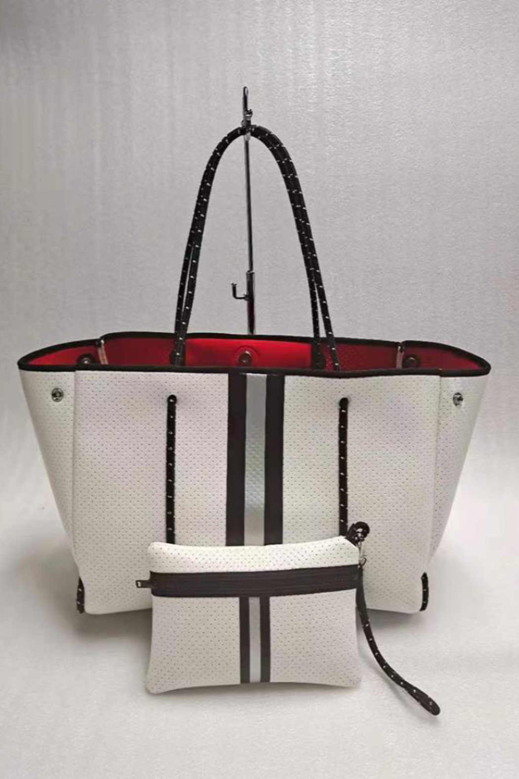 Haute Shore Bags Greyson Neoprene Tote - Front Cropped Image
