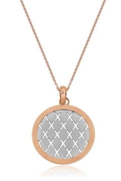 Bling It Around Again Grid Necklace - Alternate List Image