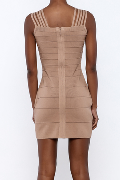 Griffin Camel Bandage Dress - Alternate List Image