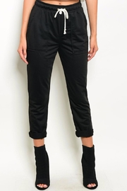 Grifflin Paris Black Jogger Pants - Product Mini Image