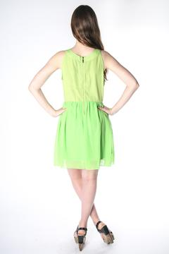 Grifflin Paris Lime Babydoll Dress - Alternate List Image