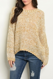 Grifflin Paris Mustard Knit Sweater - Product Mini Image