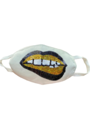 Sparkle City Grin Face Mask - Product Mini Image