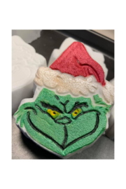 The Birds Nest GRINCH BATH BOMBS - Front cropped