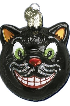 Old World Christmas Grinning Cat Ornament - Product List Image