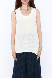 Grizas Crinkle Tank Top - Side cropped