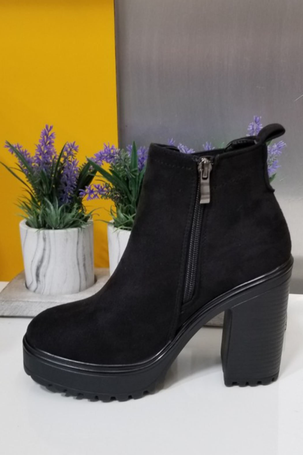 Refresh Grizz Booties - Side Cropped Image
