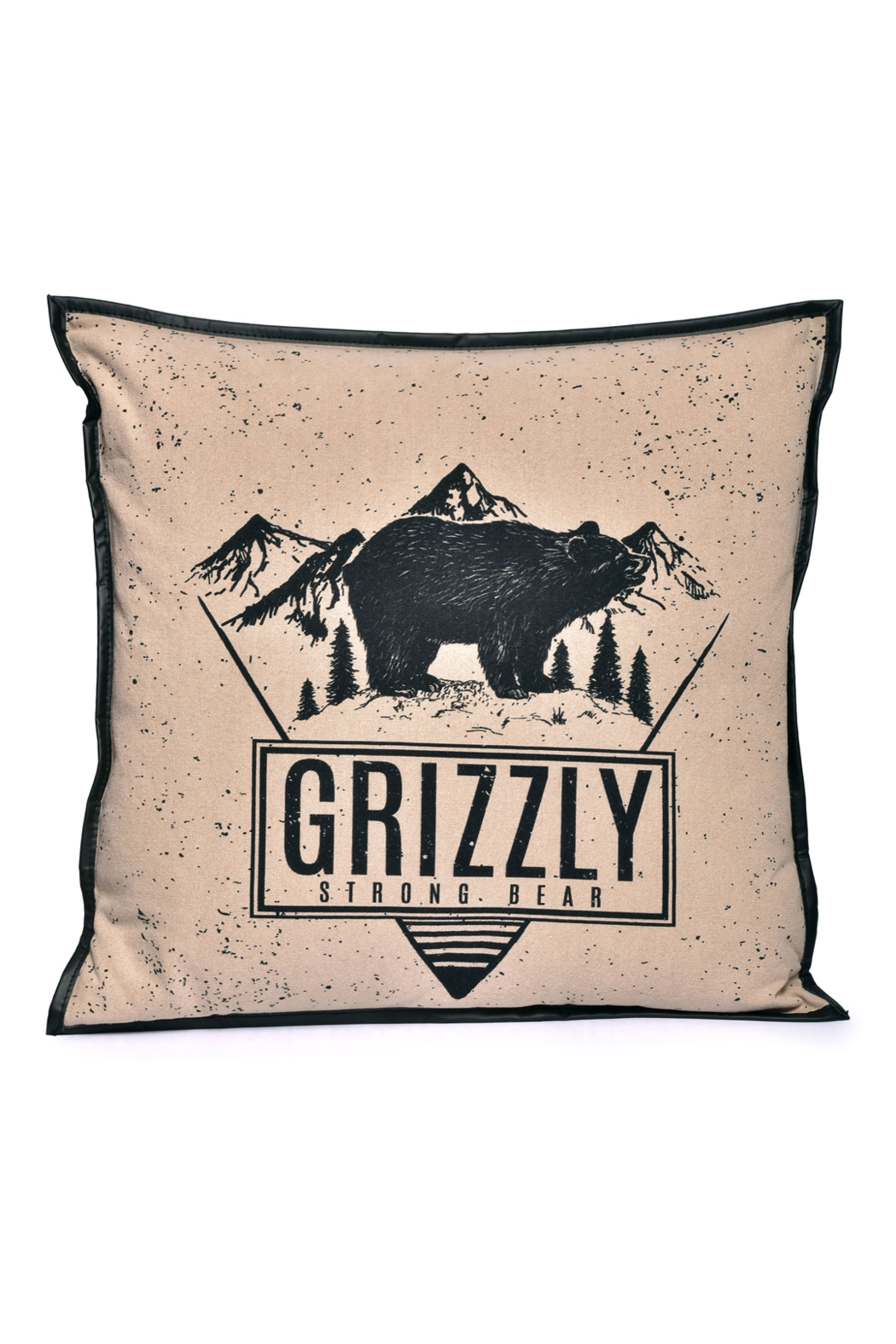 Cott N Curls Grizzly Bear Pillow - Main Image