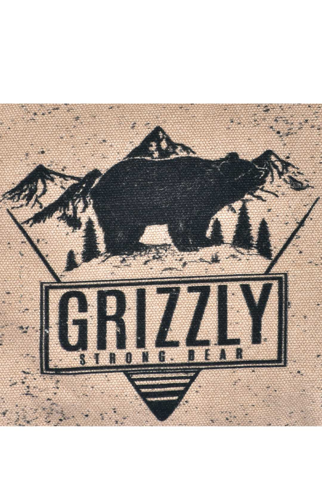 Cott N Curls Grizzly Bear Pillow - Front Full Image