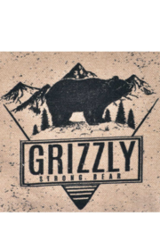 Cott N Curls Grizzly Bear Pillow - Front full body